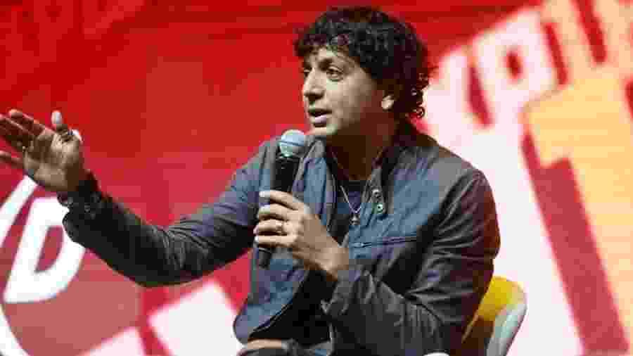 O cineasta M. Night Shyamalan na CCXP, em São Paulo - Iwi Onodera/UOL