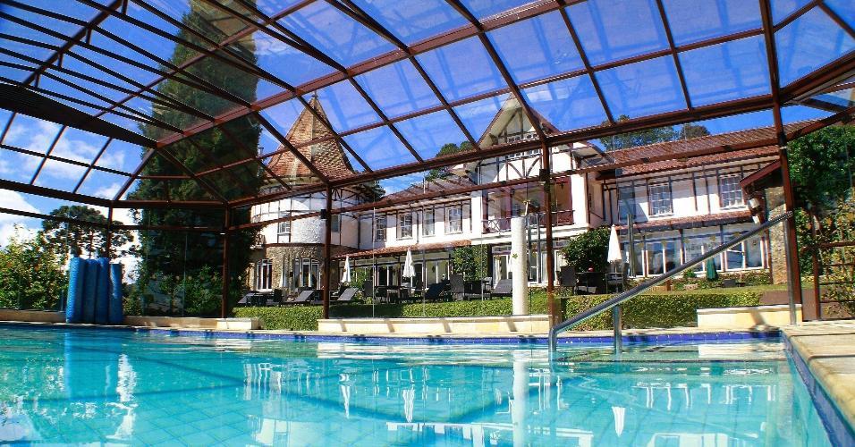 Hotel Vila Inglesa, em Campos do Jordão
