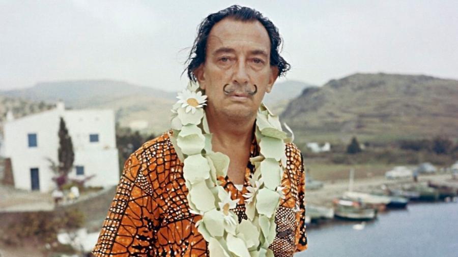 O artista catalão Salvador Dalí - Kammerman/Gamma-Rapho/Getty Images