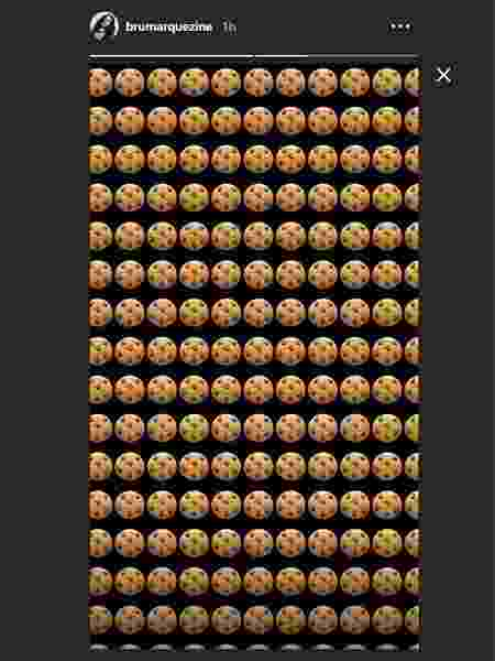 Bruna Marquezine publica emojis de biscoito, que significa que alguém quer aparecer a qualquer custo  - Reprodução/Instagram - Reprodução/Instagram