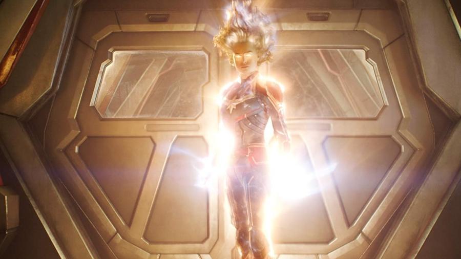 Brie Larson é a Capitã Marvel nos cinemas - Divulgação