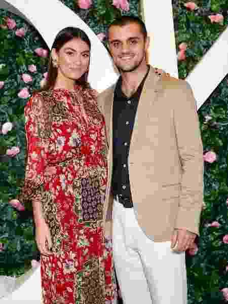Felipe Simas e Mariana Uhlmann - Manu Scarpa/Brazil News