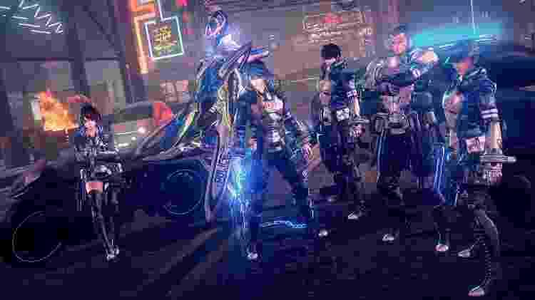 Astral Chain Characters - Divulgação - Divulgação
