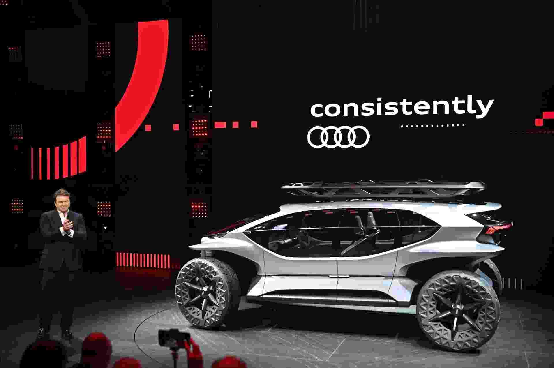 Audi AI:TRAIL quattro - AFP