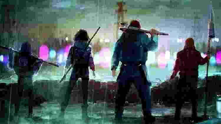Imagem conceitual da nova série inspirada no universo de Walking Dead - Reprodução