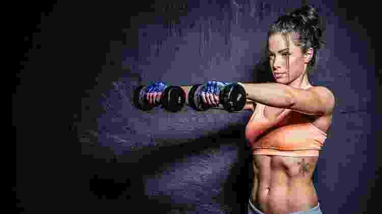 Musculação, braços, ombros - iStock - iStock