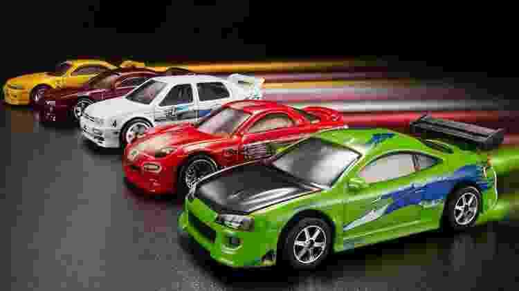 """Clássicos da telona: carros de """"Velozes e Furiosos"""" viraram miniaturas - Divulgação"""