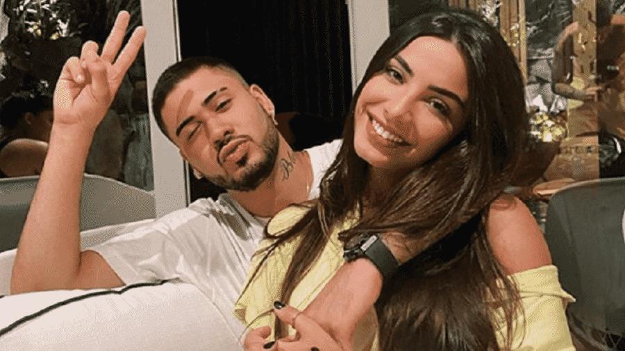 Kevinho assumiu relacionamento com a modelo Gabriela Versiani - Reprodução/Instagram