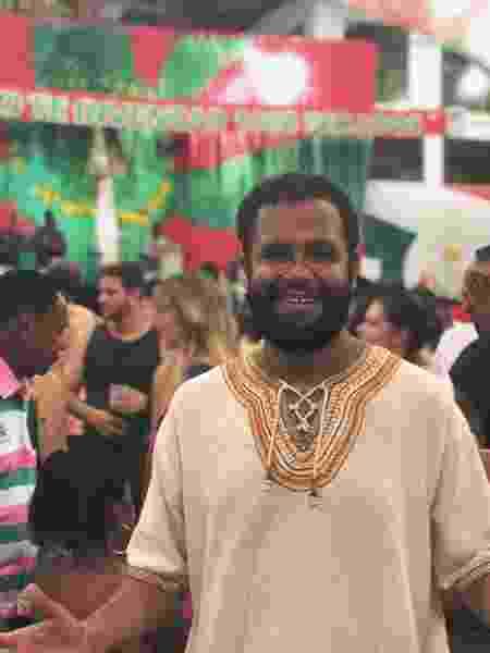 O pastor evangélico e ator Henrique Vieira - Arquivo pessoal