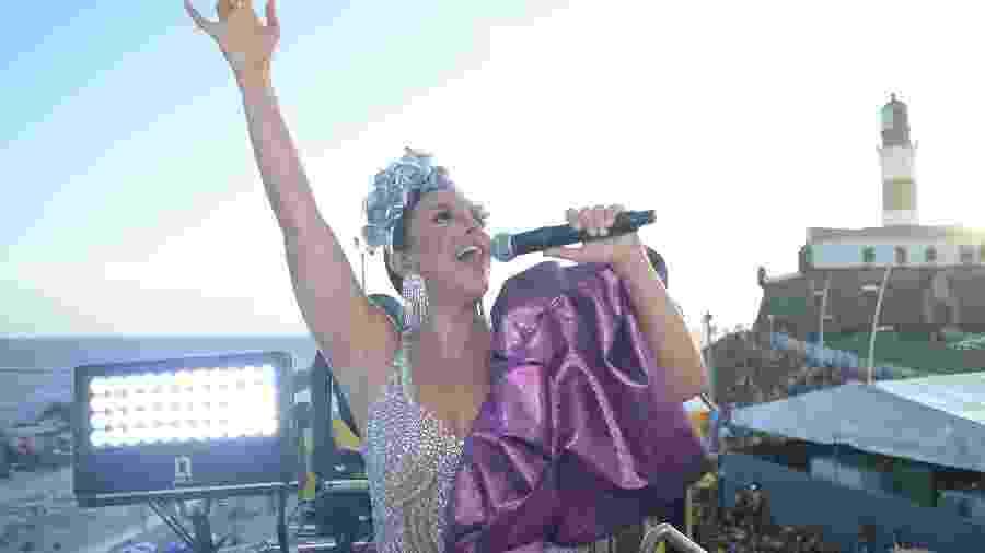 Ivete Sangalo levanta público de Salvador em segundo dia de trio - André Muzell/Brazil News