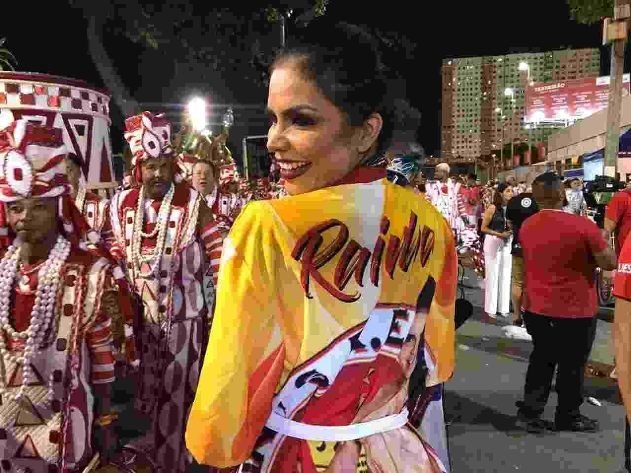 Raissa Machado, Rainha da Unidos do Viradouro - Lola Ferreira/UOL