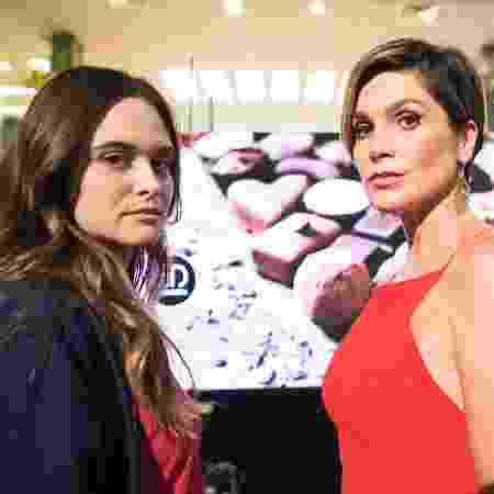 """Juliana Paiva e Flávia Alessandra em """"Salve-se Quem Puder"""" - João Miguel Júnior/ TV Globo"""