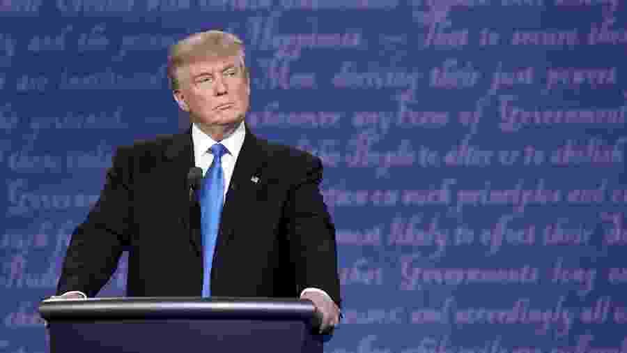 Trump falou ontem que está tomando hidroxicloroquina de maneira preventiva - Getty Images