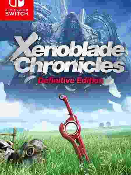 Xenoblade Chronicles capa - Reprodução - Reprodução