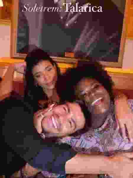 Jojo Todynho aparece segundo vela para Jake e Mariano - Reprodução/Instagram - Reprodução/Instagram