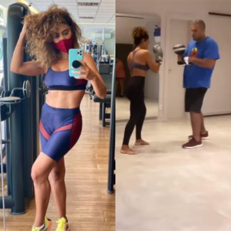 Juliana Paes ostenta corpão em dia intenso de treino - Reprodução / Instagram