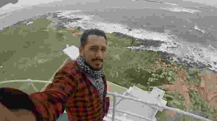 Luís de Magalhães em Cabo Polônio (Uruguai) - Arquivo pessoal - Arquivo pessoal