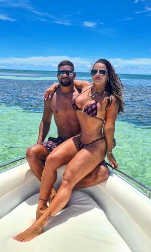 Guilherme Militão e Viviane Araújo