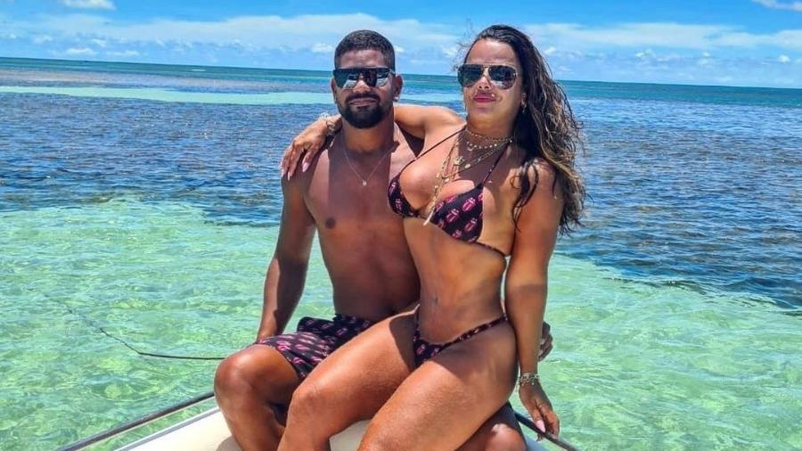 Guilherme Militão e Viviane Araújo - Reprodução/Instagram @araujovivianne