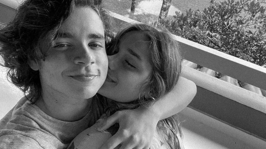João Figueiredo se derrete por Sasha - Imagem: Reprodução/Instagram@sashameneghel