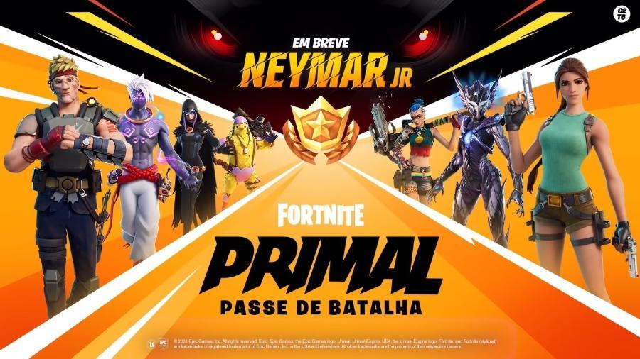 Neymar terá skin no game - Divulgação/Epic