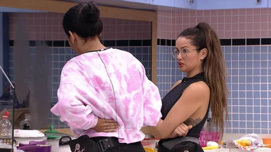 BBB 21: Juliette dá conselho para Pocah - Reprodução/ Globoplay