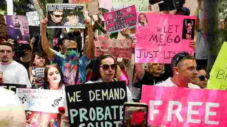 Movimento #FreeBritney pede 'libertação' da cantora - Rich Fury / Getty Images - Rich Fury / Getty Images