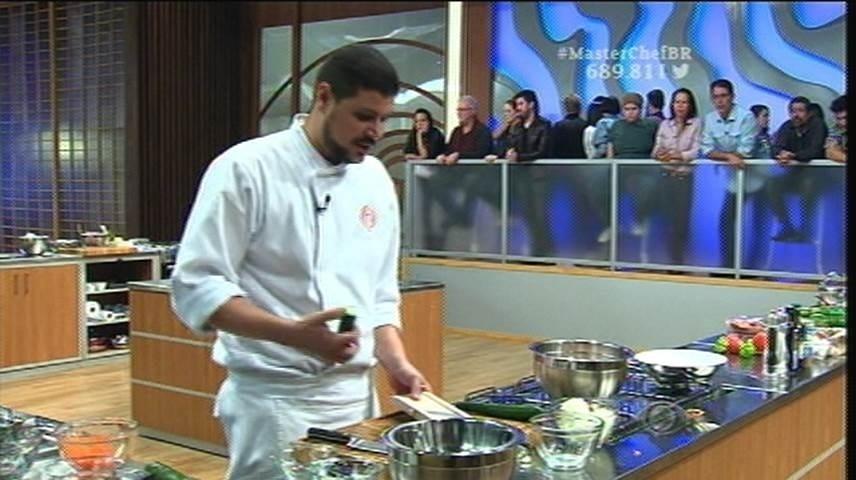 15.set.2015 - Raul se inspirou na culinária asiática para a prova final