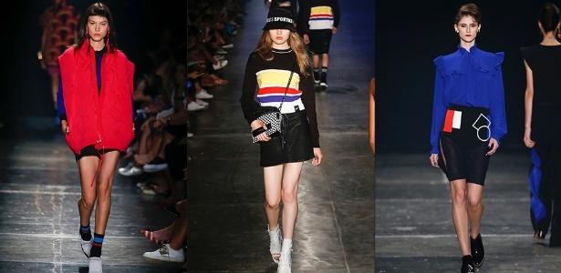 Looks dos desfiles da Gig Couture, Ellus e Juliana Jabour na SPFW - Alexandre Schneider/UOL