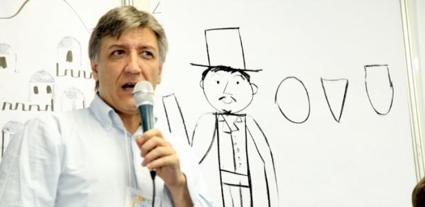 O ilustrador espanhol Javier Zabala, convidado do Salão do Livro no Rio - Divulgação