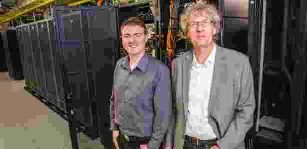 A gravação acaba de ser restaurada por Jack Copeland, professor da Universidade de Canterbury, e pelo compositor Jason Long - AFP PHOTO / UNIVERSITY OF CANTERBURY / STR