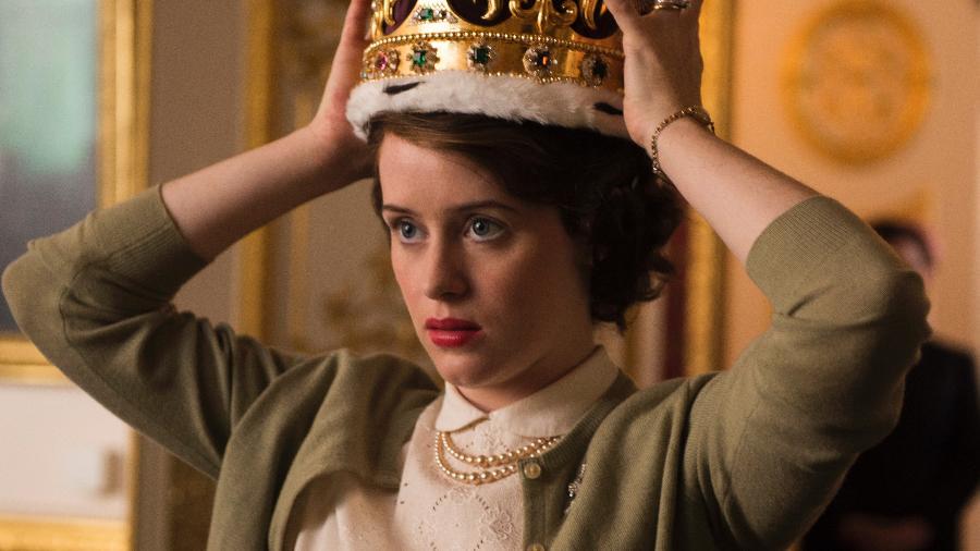 """Claire Foy interpreta a Rainha Elizabeth 2ª na série """"The Crown"""", da Netflix - Divulgação"""