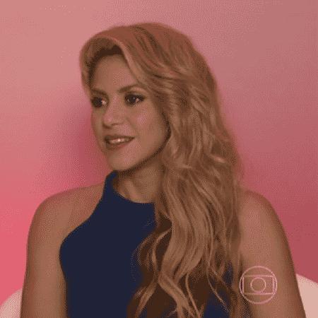Shakira - Reprodução/TV Globo