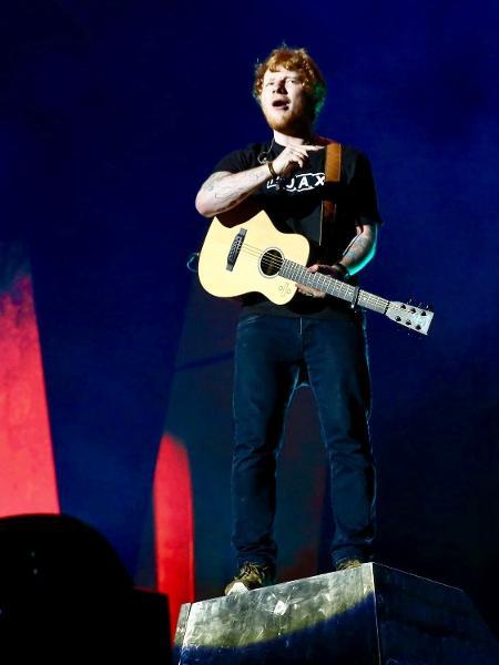 Ed Sheeran ainda não sabe o que acontecerá com sua turnê após acidente - Manuela Scarpa/Brazil News