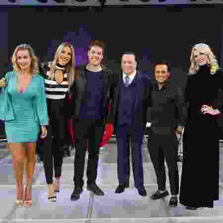 """Fábio Porchat grava o quadro """"Elas Querem Saber"""", do """"Programa Raul Gil"""" - Divulgação/SBT - Divulgação/SBT"""