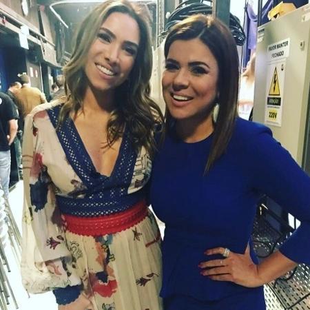 """Mara posta foto e diz que Patrícia Abravanel está grávida de uma menina: """"parabéns e muita luz"""" - Reprodução/Instagram/maramaravilhaoficial"""