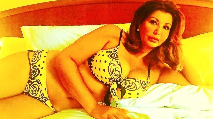 Roberta Close posa de biquíni aos 52 anos - Reprodução/Facebook