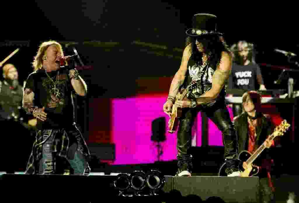Guns N' Roses fecha a 1ª edição do São Paulo Trip - Mariana Pekin/UOL