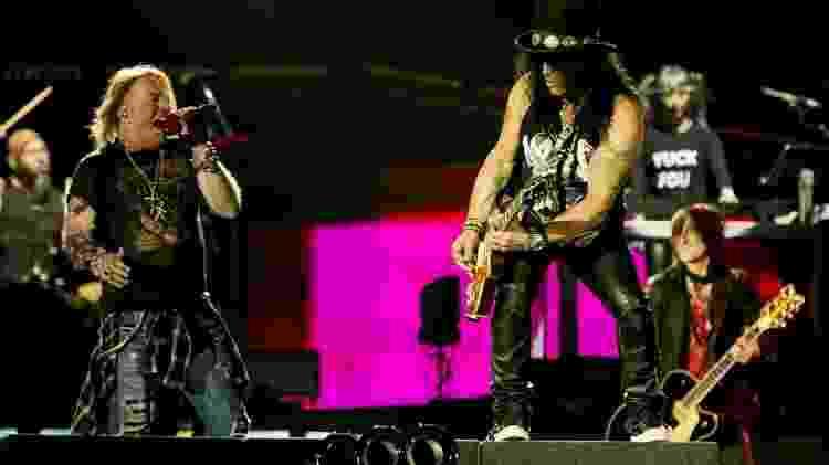 Guns N' Roses, atração principal do Lollapalooza Brasil 2020 - Mariana Pekin/UOL