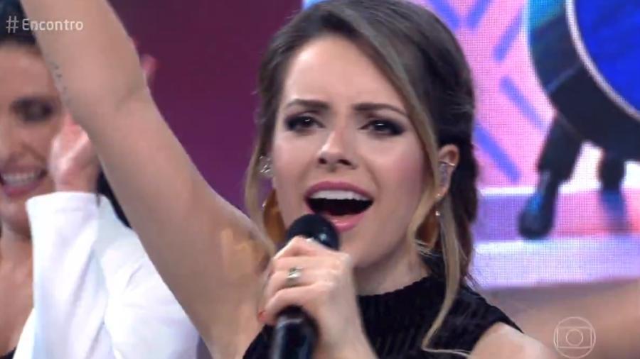 Sandy disse sentir saudades da dramaturgia - Reprodução/Globo