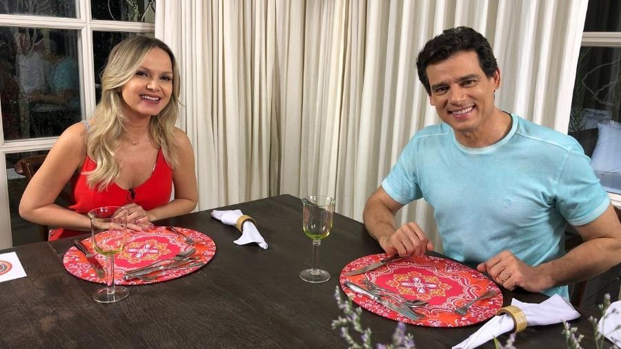 """Celso Portiolli participa do programa """"Eliana"""" - Gabriel Cardoso/Divulgação/SBT"""