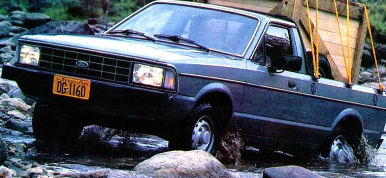 Pampa 4x4 foi vendida até meados dos anos 90 - Divulgação