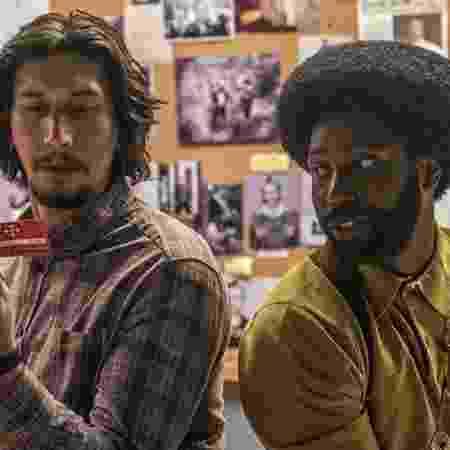 """Adam Driver e John David Washington em cena de """"BlacKkKlansman"""", de Spike Lee - Divulgação"""
