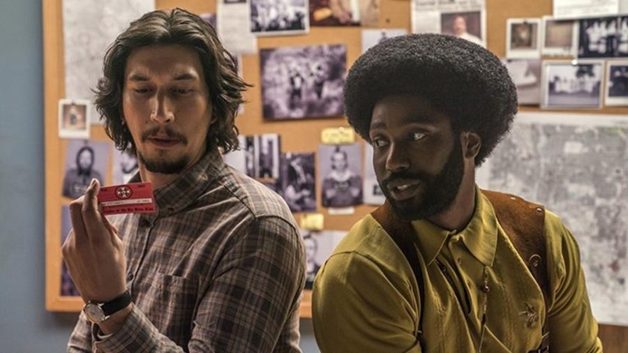 """Adam Driver e John David Washington em cena de """"Infiltrado na Klan"""", de Spike Lee - Divulgação"""