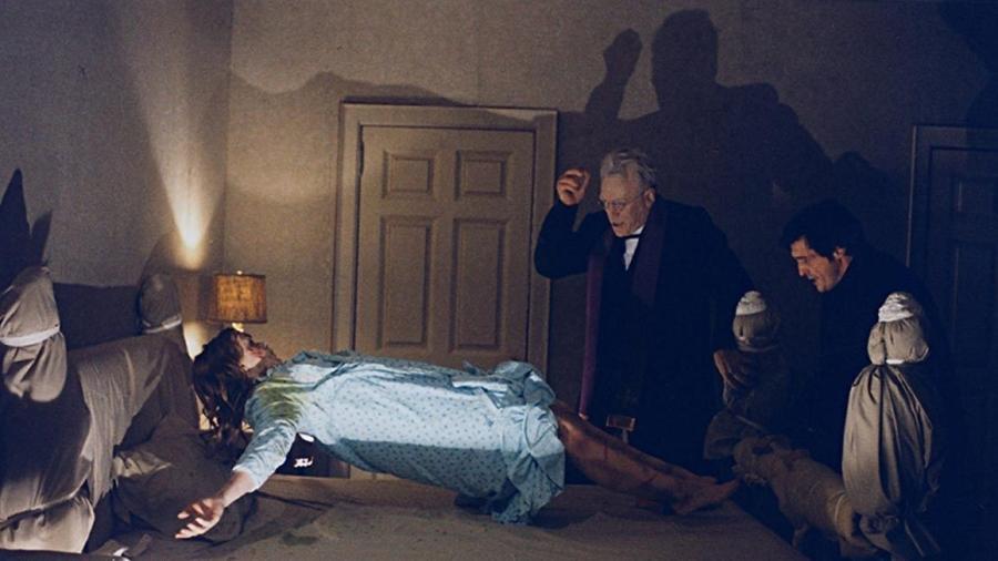 """Cena do filme """"O Exorcista"""" (1973) - Reprodução"""