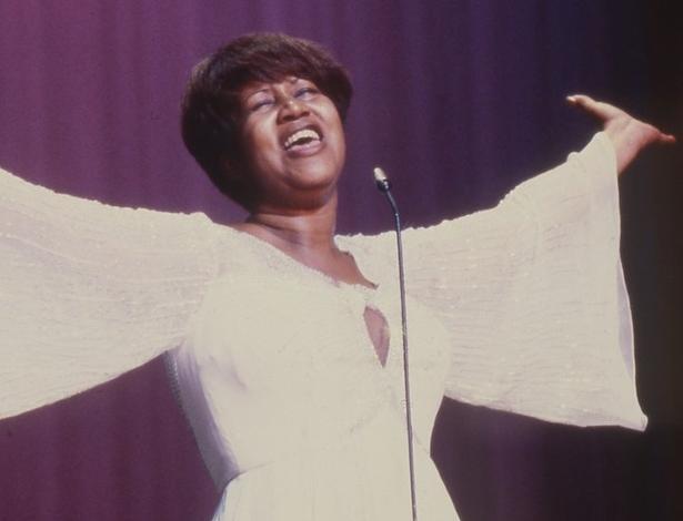 """A música """"Respect"""", de Aretha Franklin, se tornou um hino feminista e da luta por direitos civis nos Estados Unidos - BBC"""