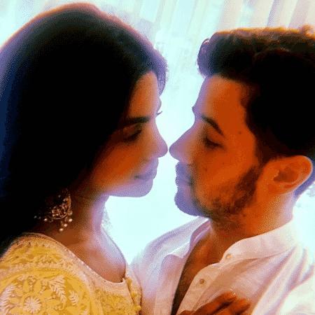 Priyanka e Nick Jonas - Reprodução/Instagram/Priyanka Chopra