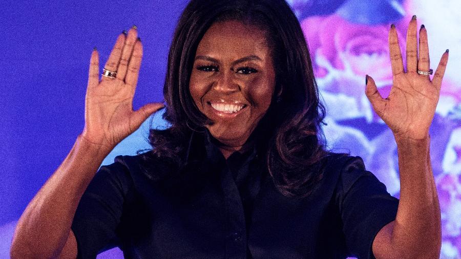 Michelle Obama participa de evento em Londres - Getty Images