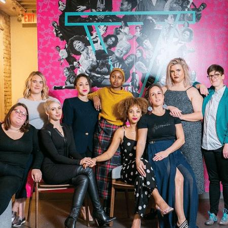 Frequentadoras do escritório de coworking The Coven, em Nova York - Reprodução/Instagram