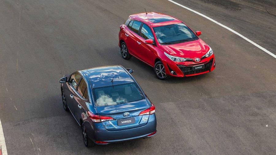 Depois do Etios sair de linha, Yaris deverá seguir mesmo caminho para dar espaço a SUV compacto na gama da Toyota no Brasil - Divulgação